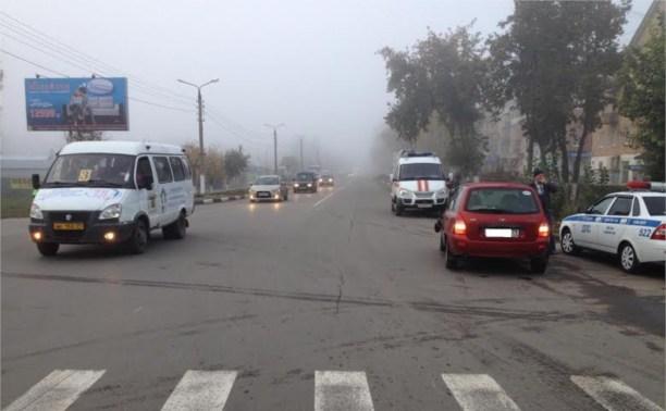 В аварии в центре Щёкино пострадал пешеход