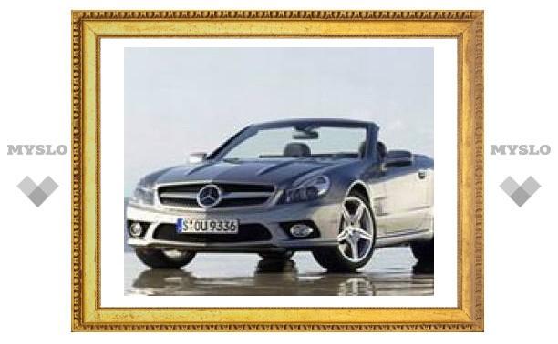 Цены на новый Mercedes-Benz SL в России начинаются от 105 800 евро