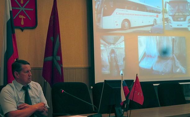 У тульских воспитанников спортшкол появился свой автобус