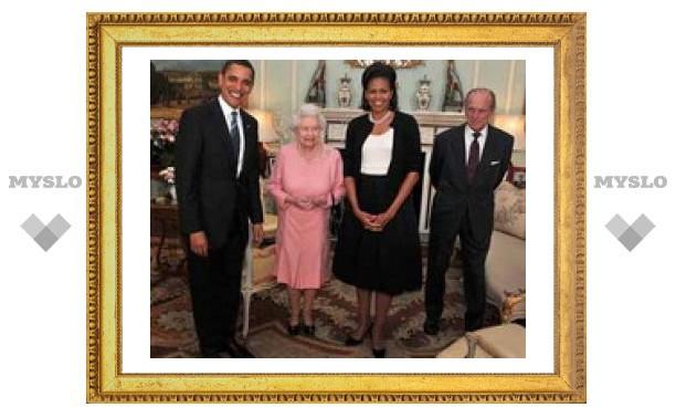 Барак Обама подарил iPod королеве Великобритании