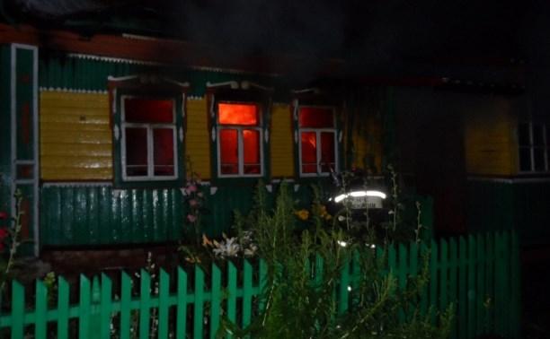 В Суворовском районе при пожаре погибла женщина