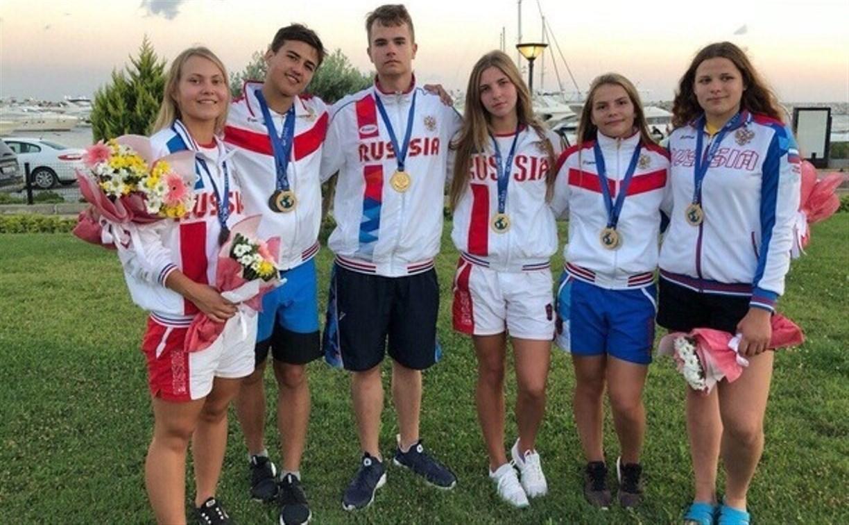 Туляки завоевали первое место на международных соревнованиях по плаванию в ластах