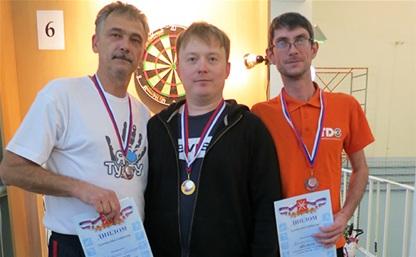 Чемпион Тулы по дартсу подтвердил свой статус