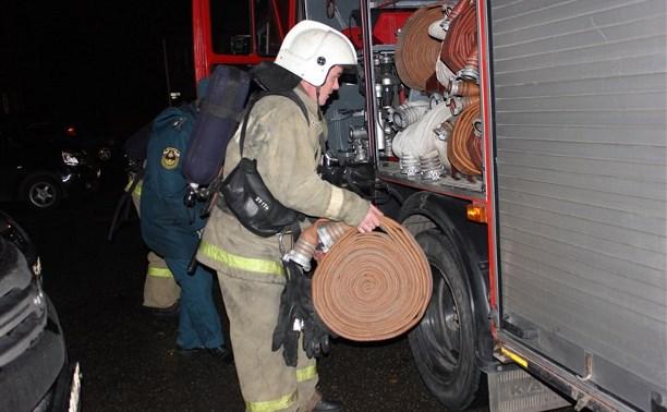Тульским пожарным устроили серьезную проверку