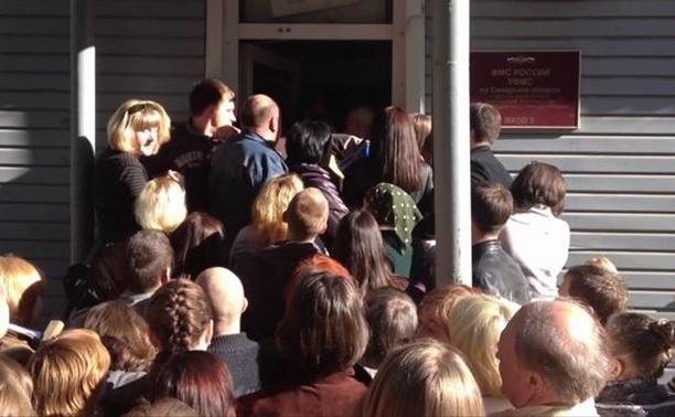 Около половины россиян недовольны работой ФМС