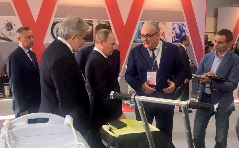 Владимиру Путину рассказали про тульский «кванториум»