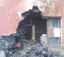 В Узловой обрушилась стена аварийного жилого дома