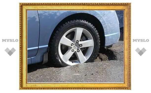 До 1 мая дороги в Туле будут отремонтированы