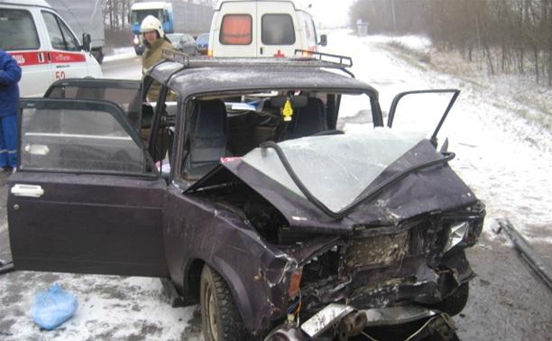 В ДТП на трассе Тула-Новомосковск погибли два человека