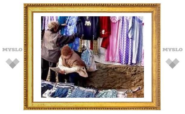 В Туле 40 точек несанкционированной торговли