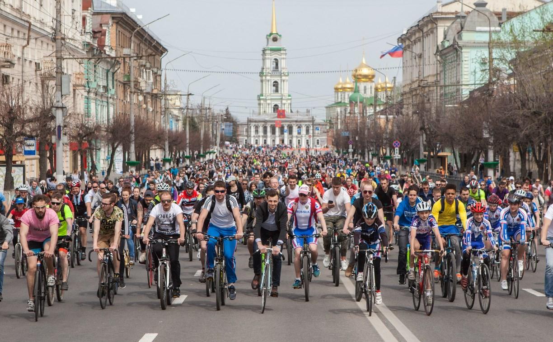 Туляки встретили Первомай на велосипедах