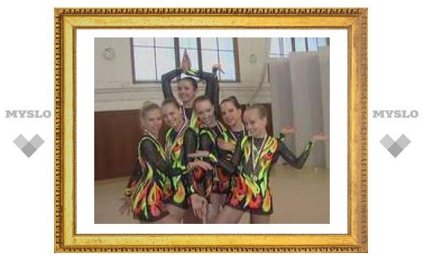 Тульские гимнастки едут в Европу