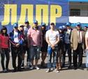 Агитационный теплоход ЛДПР прошёл по Москве-реке