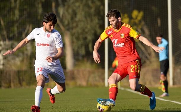 Тульский «Арсенал» одержал победу в первом контрольном матче на сборах в Турции