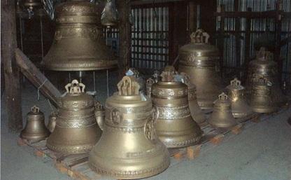 Ко Дню области в Туле освятят 22 новых колокола