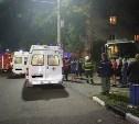 Момент столкновения троллейбуса с домом на ул. Дм. Ульянова попал на видео