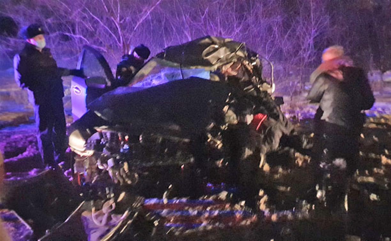 В Ефремовском районе в ДТП с грузовиком погиб водитель кроссовера