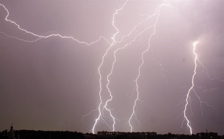Грозовой фронт оставил 17,5 тысяч жителей Тульской области без света