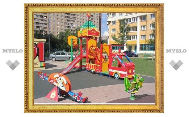Владимир Груздев потратит на детские площадки 50 млн рублей из собственного кармана