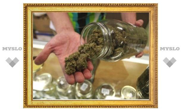Житель Тульской области хранил марихуану в трехлитровых банках