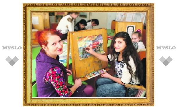 В Туле пройдет выставка художницы из Новомосковска Юлии Ромадовой