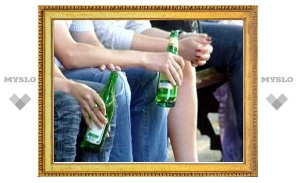 В Тульской области остро стоит проблема алкоголизма