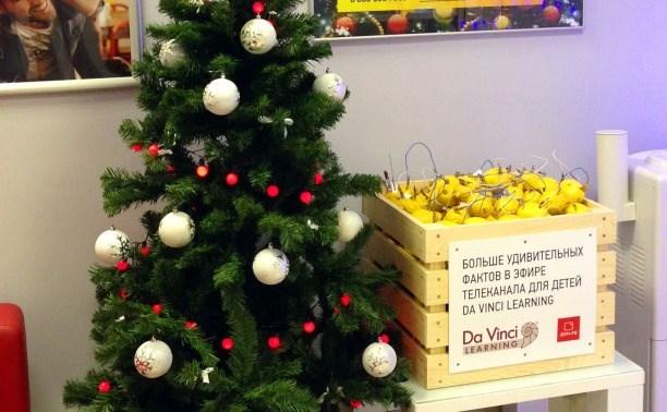 «Дом.ru» и Da Vinci установили в Туле «Лимонную елку»