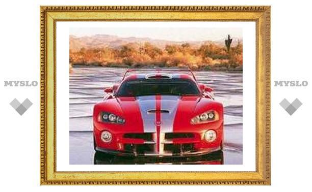 Dodge Viper поставил рекорд скорости на биотопливе – 302 километра в час