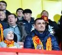 Алексей Дюмин пришел на матч  «Арсенал» -  «Шинник» вместе со своим сыном
