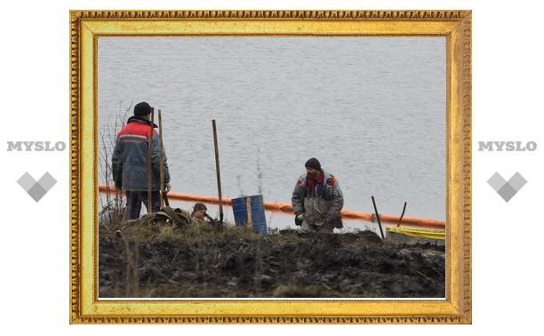 Ликвидация экологической катастрофы в Щекинском районе продолжается