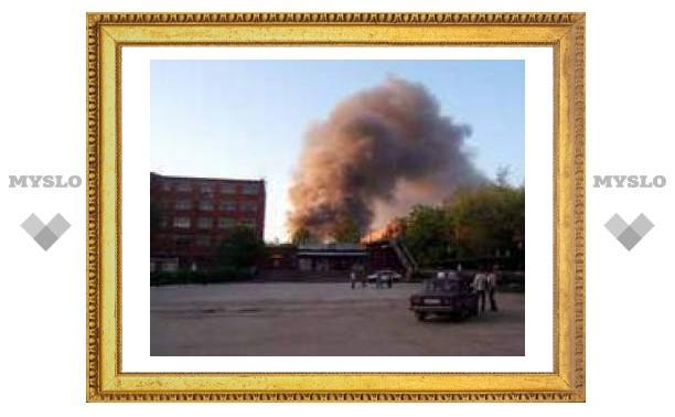 Почему загорелся Тульский комбайновый завод