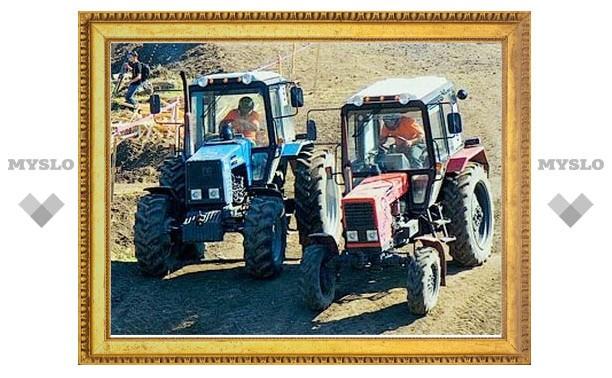 В Крыму состоялись гонки тракторов