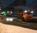 Ночью на тульские дороги высыпали около 33 тонн реагента