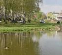 В Пролетарском парке в пруду нашли труп мужчины