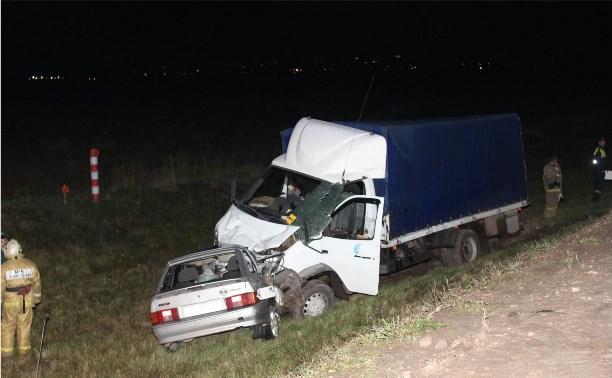 Ночью в ДТП на Калужском шоссе насмерть разбился мужчина