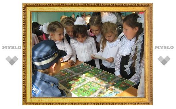 Новомосковских школьников проверили на знание ПДД