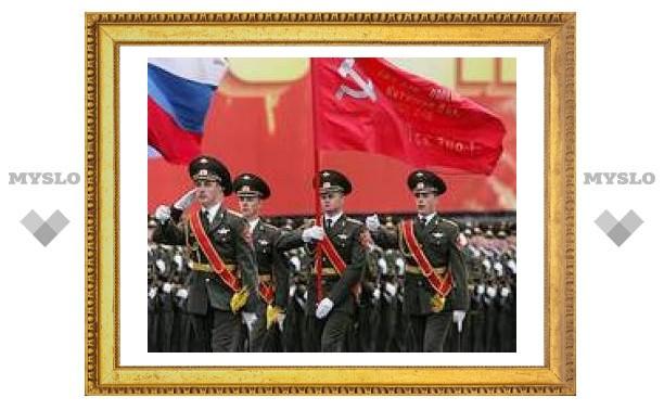 Сегодня пройдет генеральная репетиция военного парада