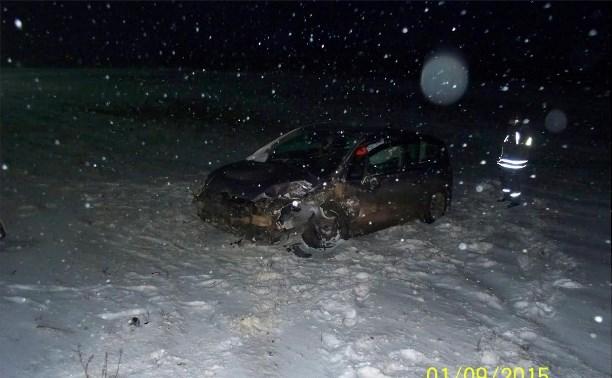 Из-за сильного снегопада в Тульской области произошло восемь серьезных ДТП