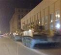 Ночью по Туле перегоняли военную технику