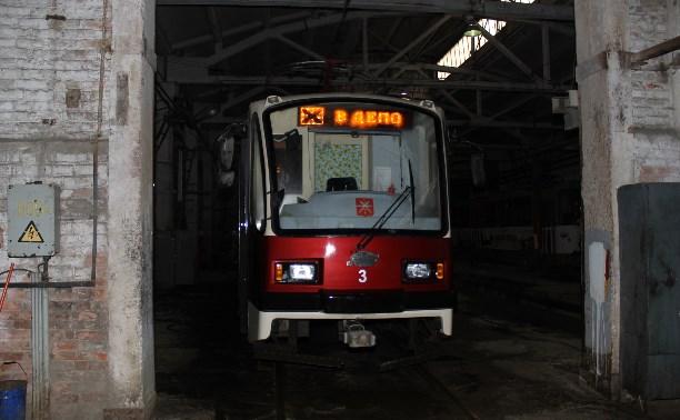 В Криволучье временно не ходят трамваи