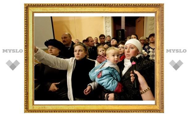 В Киреевске прошла встреча с Груздевым