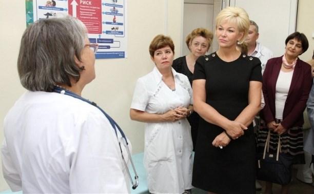 Замминистра здравоохранения оценила работу тульских больниц