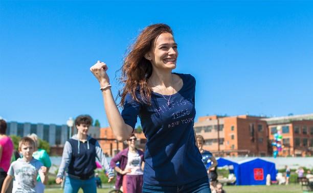 Туляки приняли участие в масштабном фитнес-фестивале
