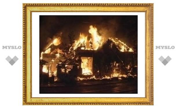 Пожары унесли жизни трех туляков
