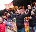 Матч «Арсенал» – ЦСКА в Туле: пустое поле и полные трибуны