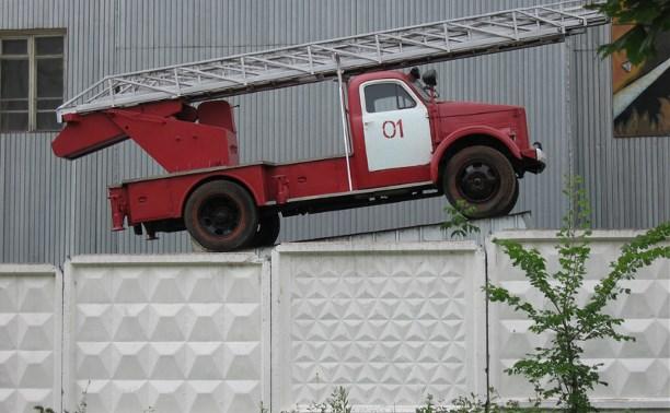 В Тульской области выбрали лучшего пожарного