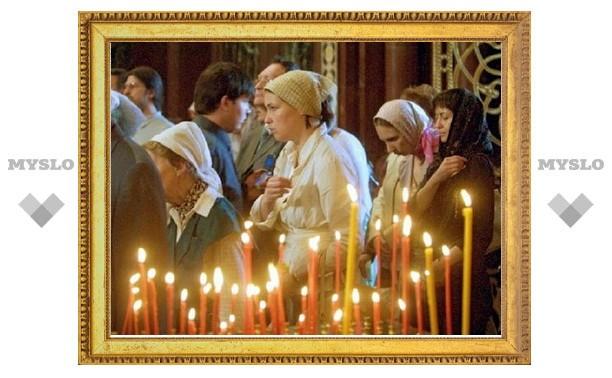 Тульским верующим передали храм Бориса и Глеба