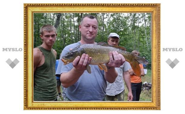 В Туле поймали рекордную рыбу