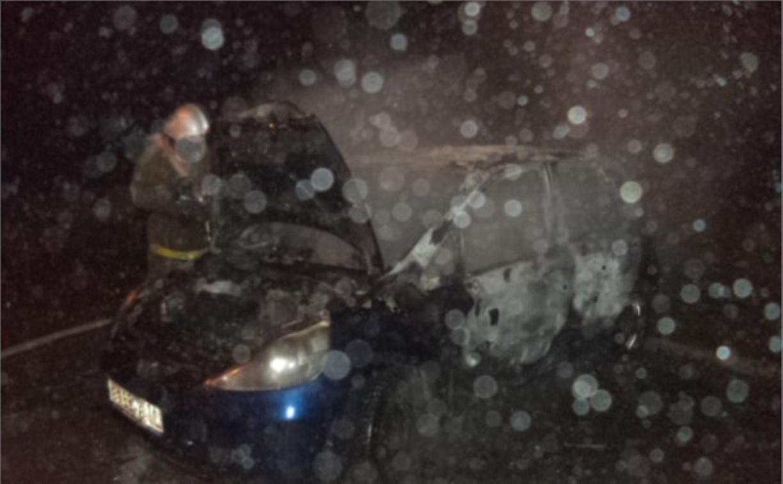 Ночью в Щекино сгорели три машины