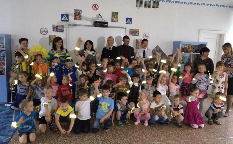 Сотрудники ГИБДД провели для детей марафон «Дорожный светлячок»